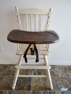 guest project -- transform your high chair from blah to beautiful