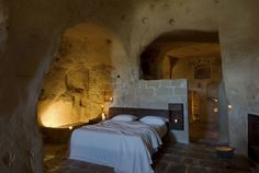 Daniele Kihlgren's Italian retreat might change your opinion of spending the night in an ancient cave.