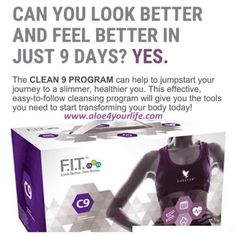 Want to look better and feel better in just 9 days, if so why not try our every so popular even with the stars clean drop me a message for more information. Forever Living Aloe Vera, Forever Aloe, Getting Rid Of Bloating, Cleanse Program, Clean 9, Natural Detox, Weight Loss Detox, Weight Loss Before, Forever Living Products