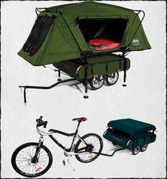 Bicycle Camper - Say what?!