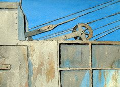 Watercolour Painting (Orkney Crane) Paintings I Love, Your Paintings, Peter Robinson, Robert Henri, Urban Landscape, Cityscapes, Watercolour Painting, Crane, Amazing Art