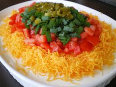 Janet Is Hungry: Seven Layer Mexican Dip