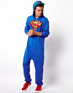 ASOS Onesie With Superman Print. (Just a hint for my birthday for those that love me! ;o)