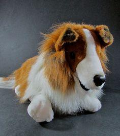 "1993 Dakin Lassie Collie Plush Stuffed Animal Dog 20""  #Dakin #lassie #collie #plush #dog"