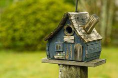 .Rustic Birdhouse