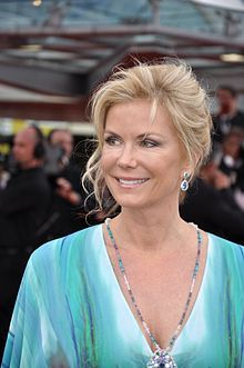 """Katherine Kelly Lang (2013 Monte Carlo Television Festival) best known for her character role as Brook Logan in the daytime soap opera """"The Bold and the Beautiful,"""" has been nominated for an 2014 Emmy Award."""
