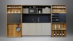 Concept | Innovation PIA is a compact substitute for the classic kitchen. It preserves valuable and expensive space by maximizing its usability. For that..