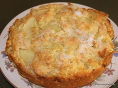 Kerry or Irish Apple Cake - a rustic and traditional recipe from rural Ireland.