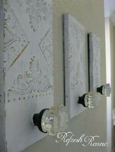 Glass Knob Towel Holders Delicate Beautiful And Function Inspiration From Refresh Renew