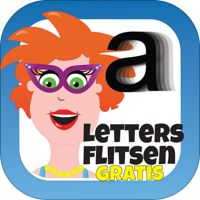 Letters flitsen voor kinderen - Juf Jannie' van Shoto