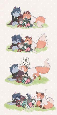 all x tan Anime Meme, Otaku Anime, Manga Anime, Anime Art, Cute Anime Chibi, Anime Kawaii, Fanarts Anime, Anime Characters, Slayer Meme