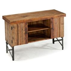I don't necessarily want this exact item, but love the reclaimed wood. Emerald Home Chandler Sofa Table - $474.34 @hayneedle