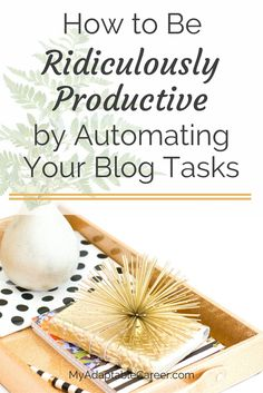 The secret to getting more things done on your blog? Automate your routine tasks! Click through to learn which tasks you can automate and how to set up your aut