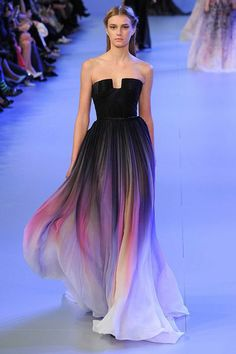 From Elie Saab's Spring/Summer 2014 Haute Couture Collection
