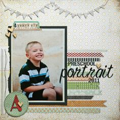 Preschool Portrait - Scrapbook.com