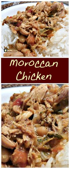 Moroccan Chicken. The flavors in this are amazing and just close your eyes and imagine the aromas coming from this when it's cooking! | Lovefoodies.com