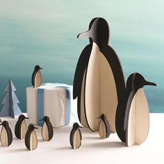 Design Ideas | XL Tux Penguin Decoration | Christmas Table Decorations