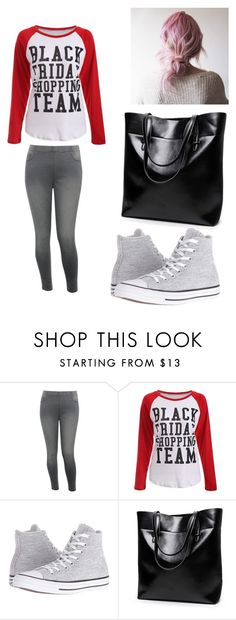 """""""Moms on Black Friday"""" by wadkinsemily1 on Polyvore featuring M&Co and Converse"""