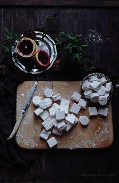 blood orange & clover honey marshmallows | une gamine dans la cuisine