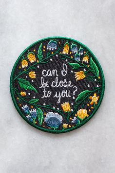 An embroidered iron-on patch made in collaboration with Australian rock band The Paper Kites, inspired by their music and lyrics. Check them out at http://thepa