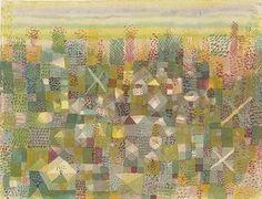 Paul Klee: Die Flora der Heide. 1925.
