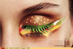 Cheeseburger eyes