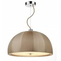 Arc 3 Light Dome 500MM Pendant Taupe - catalogue