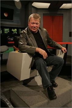 William Shatner< He will forever be revered as the most influential actor that had played the most charismatic character either on television or in the cinema.
