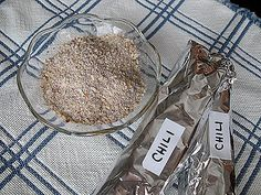 #1 RECIPE FOR OCTOBER - MAKE YOUR OWN CHILI SEASONING