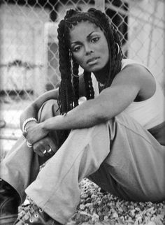 """Janet Jackson----loved this video, """"You want this!l"""" She's the biggest Jackson badass if you ask me!!"""