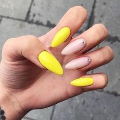 July Nails Offer Acrylic Nails Extension Only For 270 Dhs Hurry Up & Book Nail Swag, Neon Nails, My Nails, Coffin Nails, Acrylic Nails, Yellow Nail Art, Gold Nail Polish, Popular Nail Art, Nail Art Blog