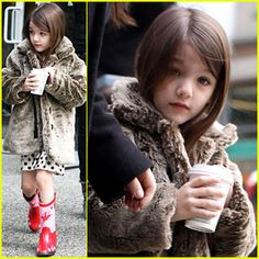 Suri Cruise.... she made Glamour's fashion icon list. It was well deserved ;)