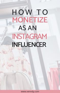 How to monetize as an Instagram Influencer? How do Instagrammers monetize their content? make money on Instagram | affiliate marketing on Instagram | make money online | stay-at-home moms monetize Instagram | #instagram Make Money Blogging, Way To Make Money, Make Money Online, Marketing Budget, Media Marketing, Home Selling Tips, How To Get Followers, Instagram Tips, Instagram Money