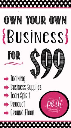 Start your very own Perfectly Posh business today. More information at www.perfectlyposh.com/nemccombs