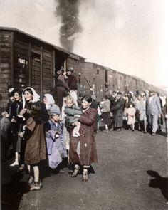 Digicolored: 1942 Poland, families sent to Treblinka
