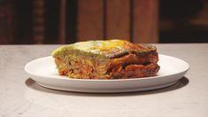 Matt Preston Delivers A Delicious And Easy Vegetarian Lasagne Vegetarian Lasagne, Vegetarian Recipes, Savoury Recipes, Vegan Meals, Diabetic Recipes, Healthy Recipes, Masterchef Recipes, Vegetable Stock Cubes, Masterchef Australia