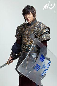"See behind the scenes photos of Lee Min Ho's new Kdrama ""Faith"""