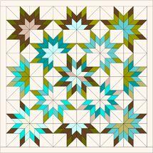 24 Superb Designs For Quilt Square Patterns, Patchwork Quilt Patterns, Barn Quilt Patterns, Hexagon Quilt, Square Quilt, Pattern Blocks, Lone Star Quilt Pattern, Star Quilt Blocks, Strip Quilts