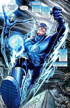 Blue Lantern Corps | Image - Flash Blue Lantern Corps 002.jpg - DC Comics Database