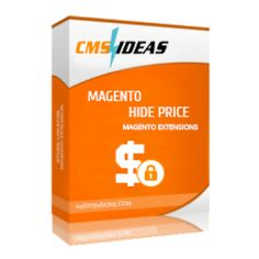 Magento Hide Price | Magento Extension | Cmsideas allows hiding prices of products from customers facilitating your B2B business.