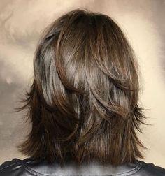 60 Most Universal Modern Shag Haircut Solutions - - Modern Razored Shag Haircuts For Medium Hair, Medium Layered Haircuts, Short Shag Hairstyles, Haircut For Thick Hair, Medium Hair Cuts, Short Hair Cuts, Medium Hair Styles, Curly Hair Styles, Formal Hairstyles
