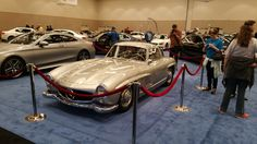 Classic Mercedes shines at the Portland International Auto Show