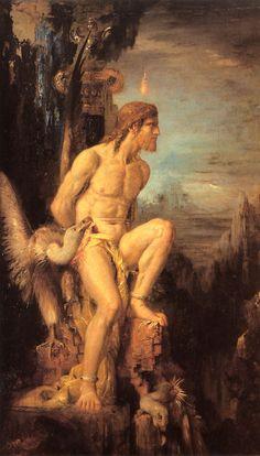 Prometheus - Gustave Moreau 1868