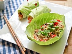 Thai Noodle Salad - Making this tomorrow - I have almost everything already (including the bean thread noodles - go figure!)
