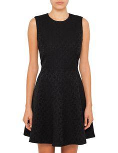 Heart Jaquard Mini Dress