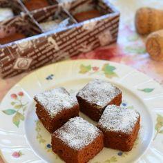 一口サイズで☆オレンジ香る♪生チョコ風ケーキ