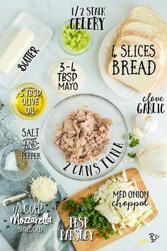 A tray of food on a plate, with Salad and Sandwich Salad Sandwich, Tuna Salad, Panini Sandwiches, Crab Salad, Chicken Salad, Creamy Macaroni Salad, Tuna Melt Recipe, Recipe Box, Best Sandwich Recipes