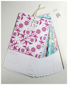 Beautiful 2013 Wall Calendar From Susy Jack. Remember for next year!