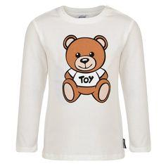 Moschino Baby Girls Peach T-Shirt and Trousers Set New Childrenswear Autumn/Winter