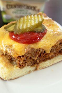 Baked Butter Burger-Creole Contessa